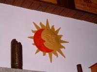 Soleil en céramique