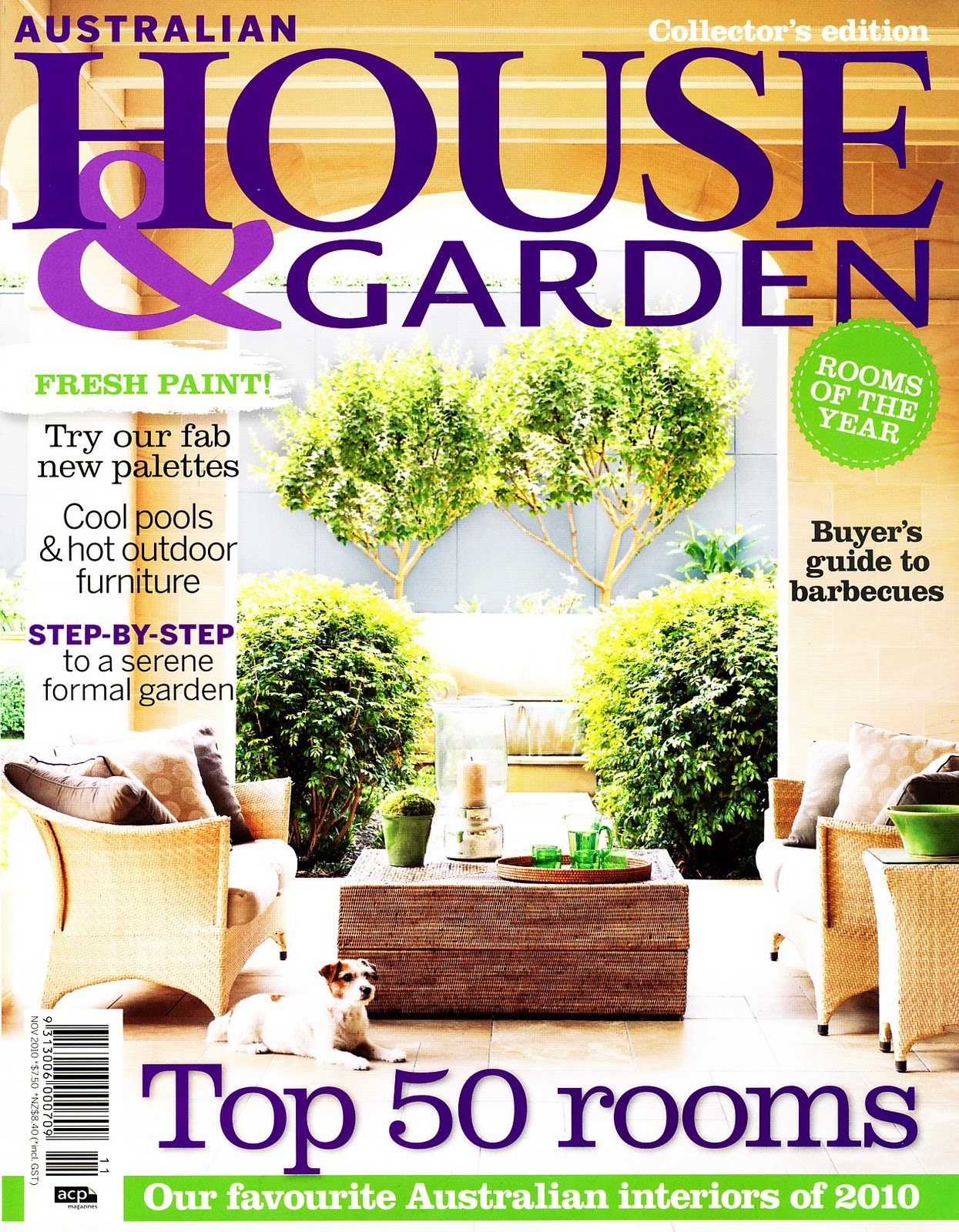 Ampersand Design House Garden Aus November 2010 Issue
