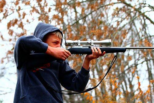 against gun toting maniacs