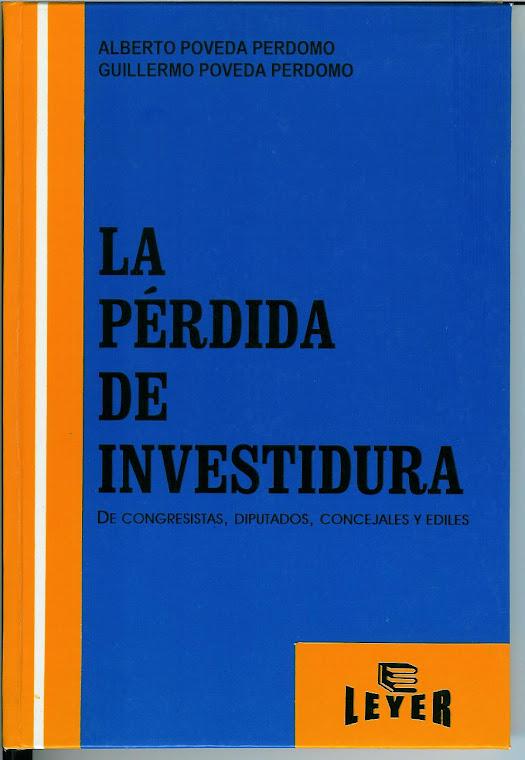 LA PERDIDA DE INVESTIDURA