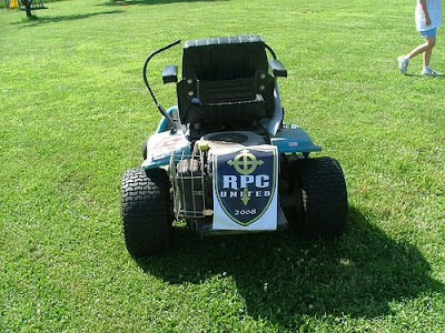 off road mower reepicheep redeemer redneck lawnmower race