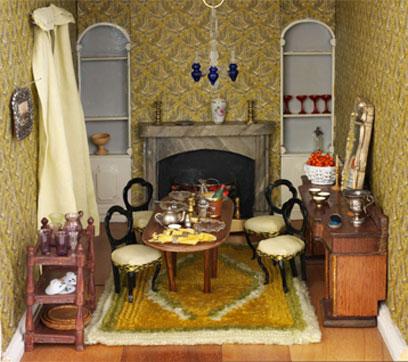 Mrs Hibberd's 1800 dining room