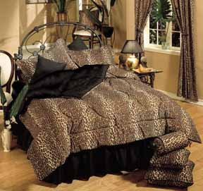 LingerieDiva.com Blog - leopard print bedroom set