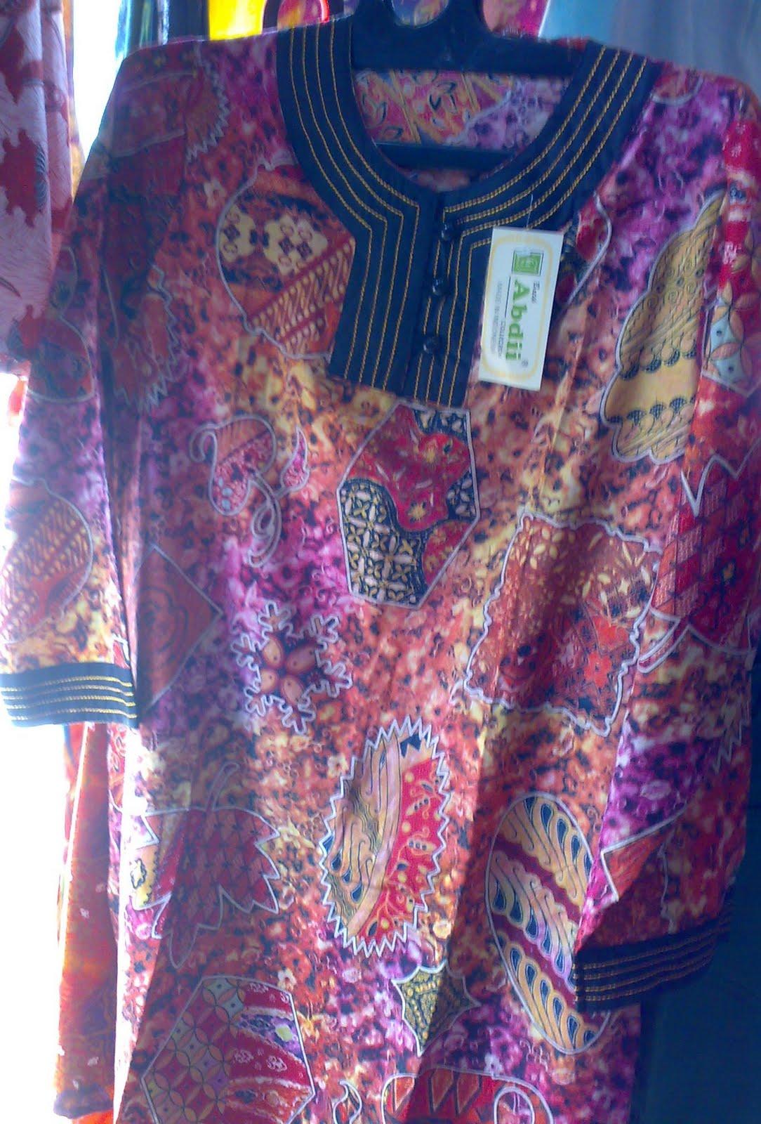 Aku Ingin Belajar Baju Batik Wanita Ukuran Jumbo