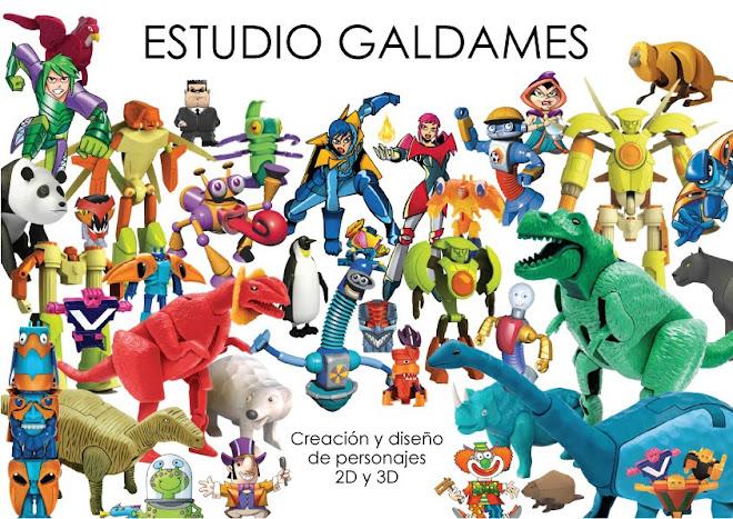 ESTUDIO GALDAMES Creación de personajes y juguetes