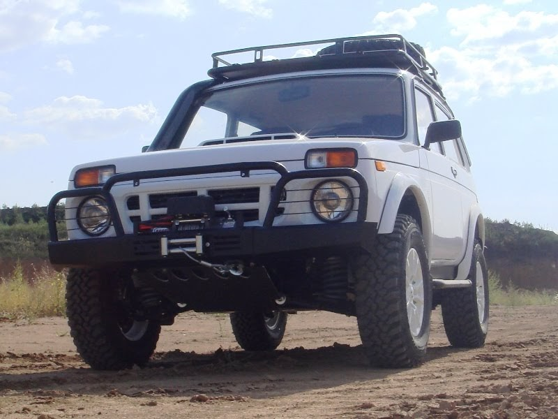 GRAU 4x4 quot Lada Niva Lada 4x4 Tuning Omega Inter
