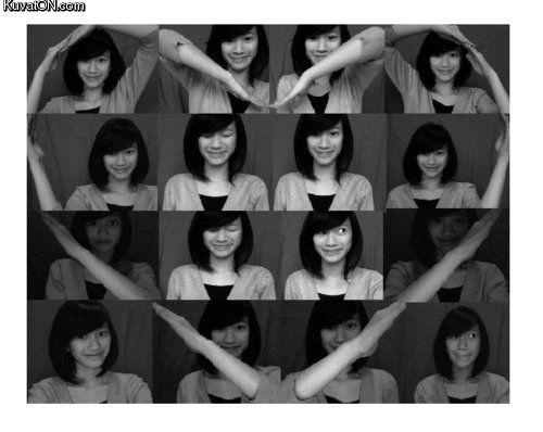 Коллаж из фото в виде сердца своими руками 74