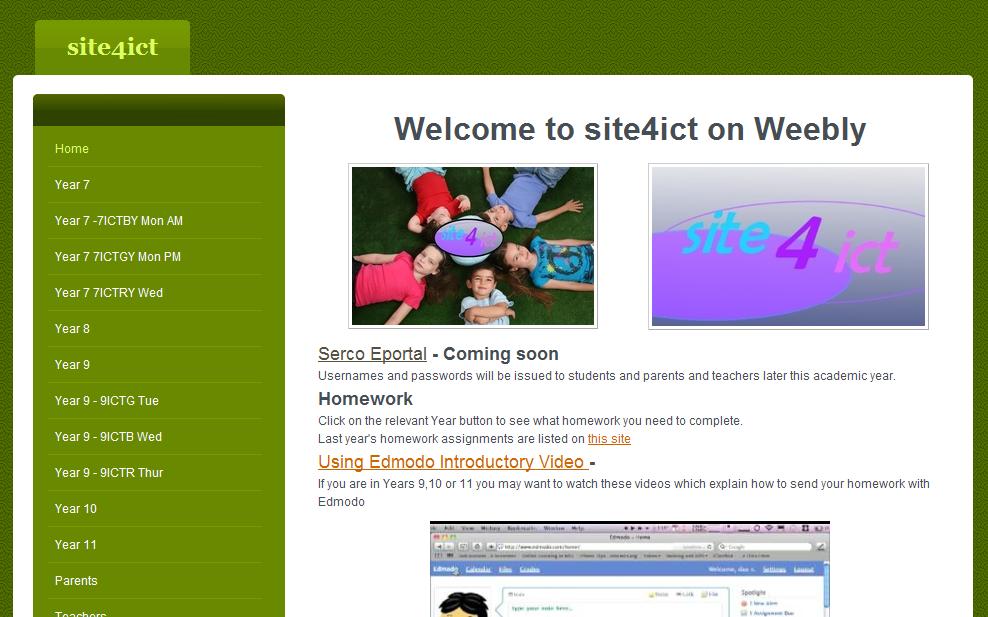 Homework website