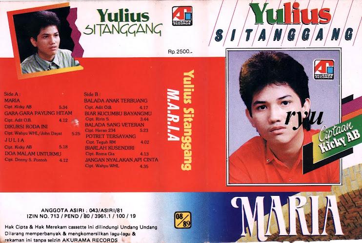 Julius sitanggang ( album maria )