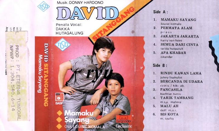 David sitanggang ( album mamaku sayang )