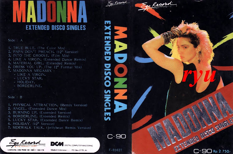 Madonna, ( album extended disco single )