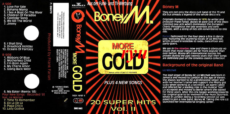 Boney m ( album 20 super hit's vol.II )