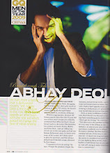 Lovely Abhay Deol for GQ's Men of the year 2009
