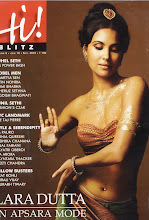 Hi-Blitz September 2010 with lara dutta