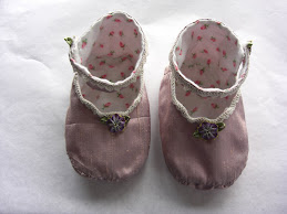 Purple Please Baby Booties