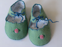 Rosy Toes Baby Booties New