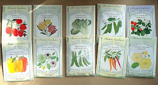 Renee's Garden, vegetable seeds heirloom seeds