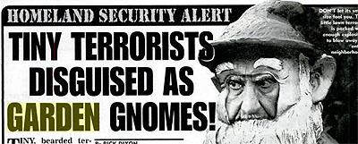 Garden Gnome Terrorists