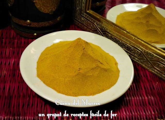 Ras el Hanout, barreja d'espècies marroquina