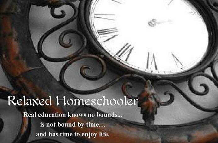 Relaxed Homeschooler