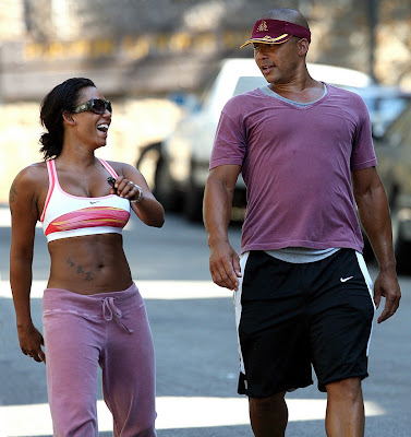 Mel B., Work out