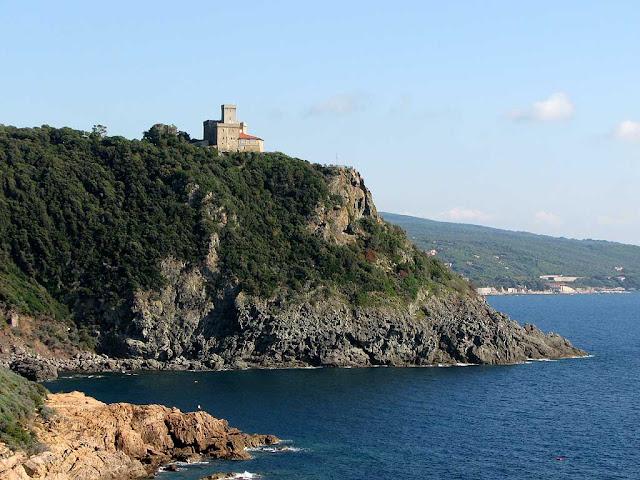 Sonnino castle, Livorno