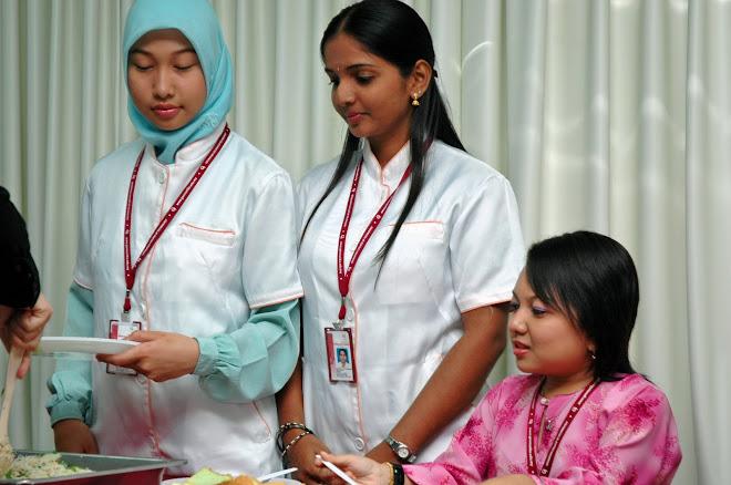 Pelajar-pelajar Diploma Kecantikan DIploma Kecantikan & kesihatan....