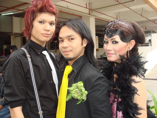 my student (khai) me & model