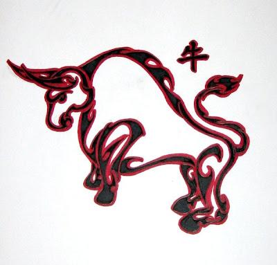 Chinese Zodiac Tattoo Designs Set 01
