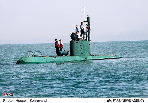 الغواصات الايرانية الايرانية Ghadir1