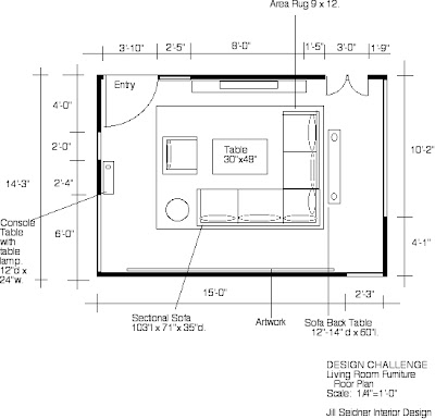 Images Drawing Room on Winner  Design Challenge  Space Plan For Your Living Room