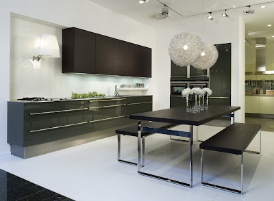 exclusive luxury kitchen black cabinets