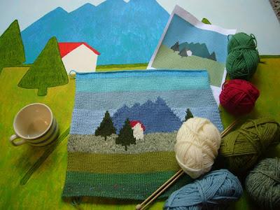 sandra eterovic knitting frenzy part iii the yogurt