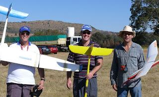 B.E.R.G. team Piet Rheeders, Robert Davies, Derek Marusich