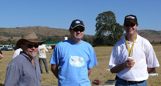 ETB team Herman Weber, Dion Liebenberg and Paul Carnall