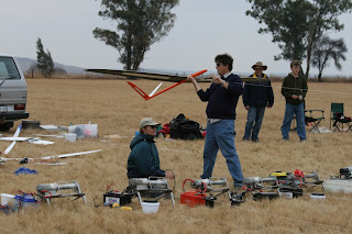 Deon preparing to launch Craig's Ceres.