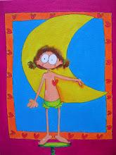la niña que alcazó la luna