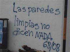 CORDOBA: Graffitis Mayo Cordobes 1968/2008