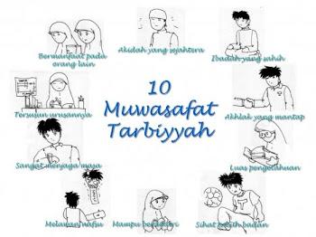 10 Muwasofat Tarbiyyah