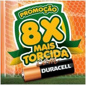 Promoção 8x mais torcida com duracell