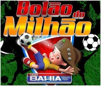 Promoção bolão do milhão casas Bahia