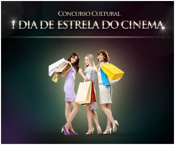 Concurso cultural 1 dia de estrela do cinema