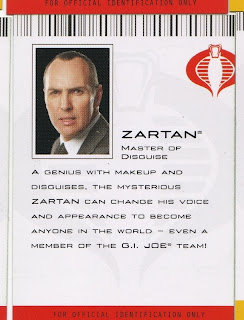Zartan, Master of Disguise