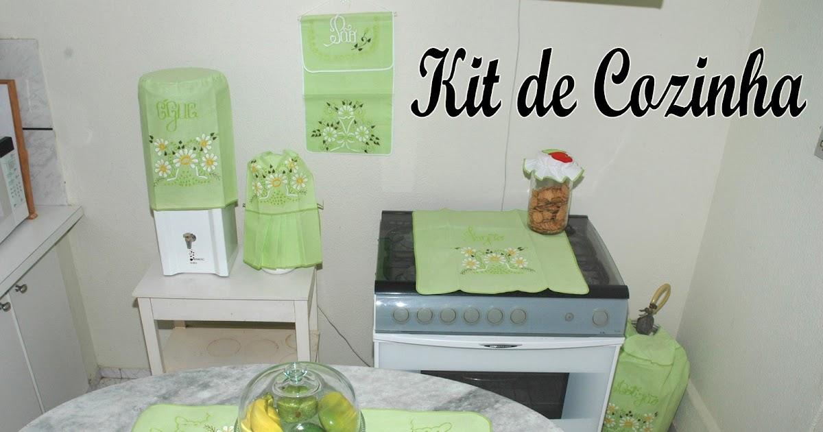 BORDADOS DO CEARÁ KIT DE COZINHA # Kit Cozinha Simples