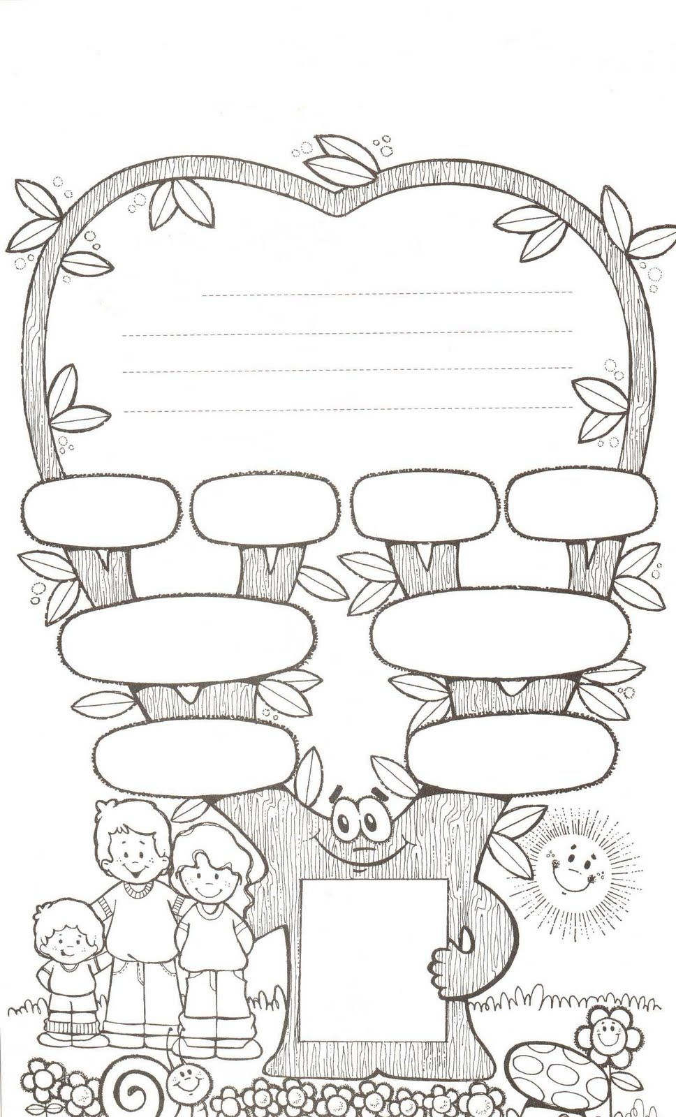 Printables Family Tree Worksheet Printable 1000 images about family printables on pinterest tree learn more at 1 bp blogspot com 968 1600worksheet printabletree