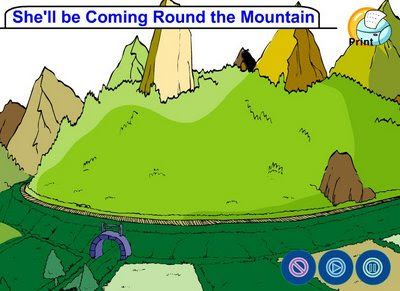 an analysis of the song shell be coming round the mountain A meaning that other parents should definitely take heed of i don't mean  1:  she'll be coming 'round the mountain when she comes she'll be.