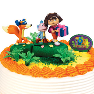 Aquarium Decoration Ideas on Dora The Explorer Birthday Cake Ideas   Learningenglish Esl