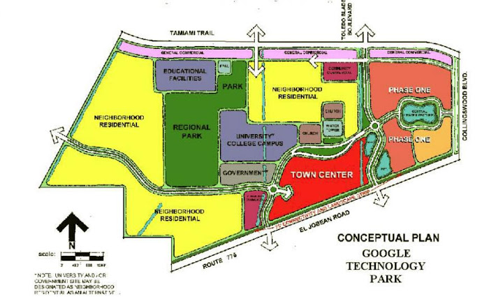 """Google Technology Park"" Conceptual Plan"