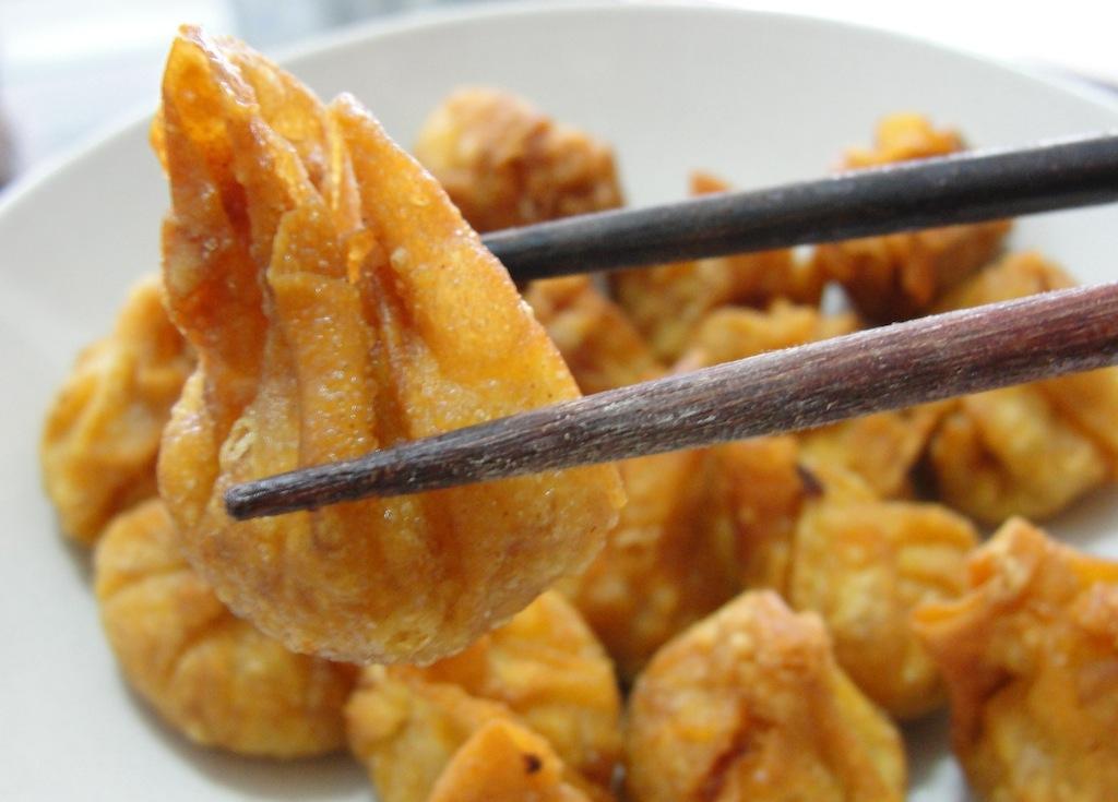 Capturing Penang: Fried Wonton & Boiled Shui Gao (Dumplings!)
