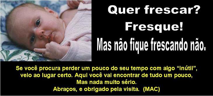 Quer Frescar? Fresque!
